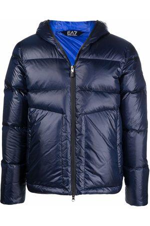 Ea7 Emporio Armani Zip-up padded down jacket