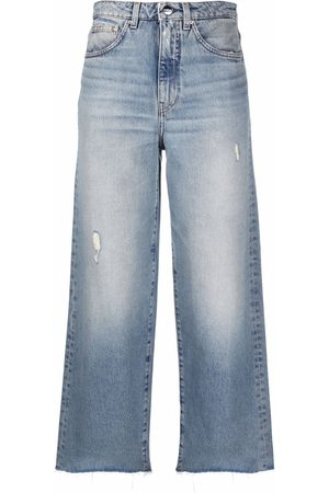 Totême Wide-leg organic jeans