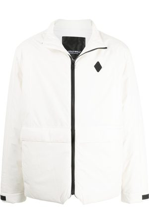 A-COLD-WALL* Logo-patch padded zip-front jacket