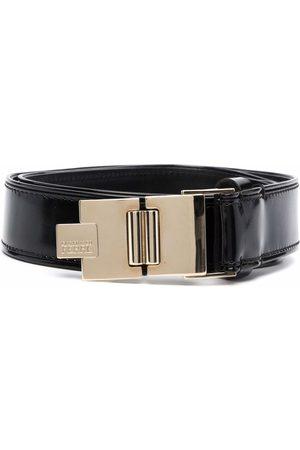 Gianfranco Ferré Pre-Owned 1990s folding buckle leather belt