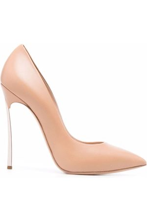 Casadei Sculpted-heel pointed pumps