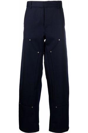 424 FAIRFAX Straight-leg cotton trousers