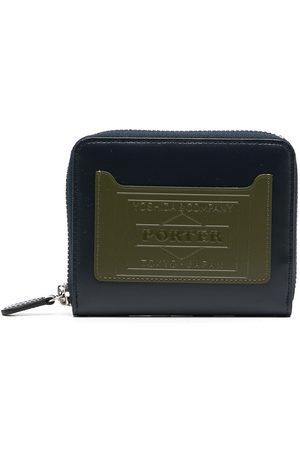 Porter-Yoshida & Co. Colour-block leather wallet