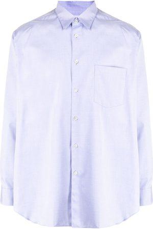 Comme Des Garçons Shirt Long-sleeve cotton shirt
