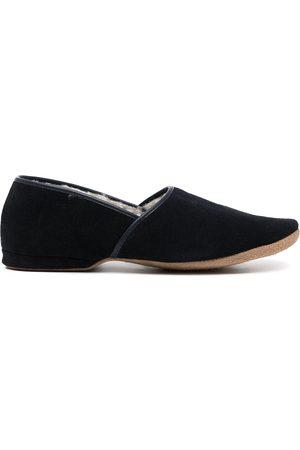 Derek Rose Muži Pantofle - Crawford suede slippers