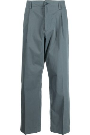 PAUL SMITH Mid-rise straight trousers