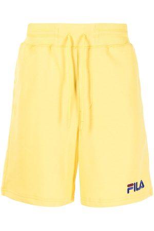 Fila Yellow jogger shorts