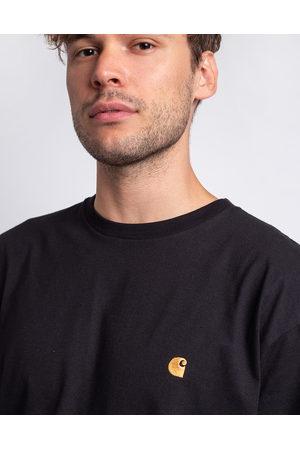 Carhartt WIP S/S Chase T-Shirt Black / Gold L