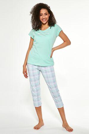 Cornette Ženy Tepláky na spaní - Dámský 3-dílný pyžamový set Sleep