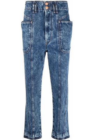 Isabel Marant Étoile High-waisted cropped jeans