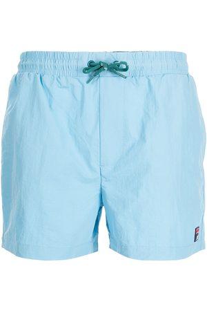 Fila Logo-patch drawstring swim shorts