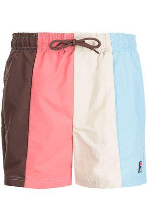 Fila Colour-block swim shorts