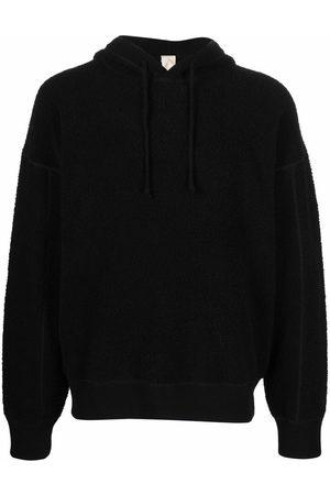 Ten C Long-sleeve fleece hoodie