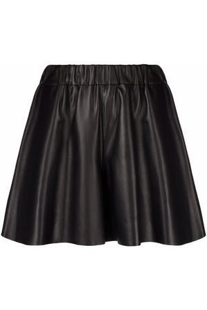 RED Valentino Polished-finish A-line skirt