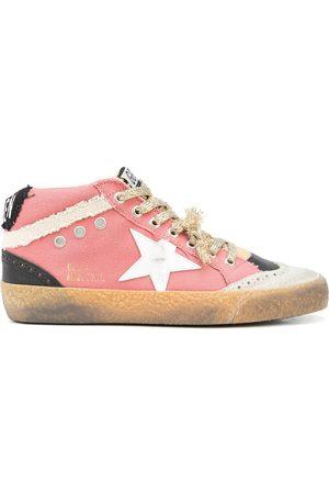Golden Goose Ženy Tenisky - Panelled Mid-Star sneakers