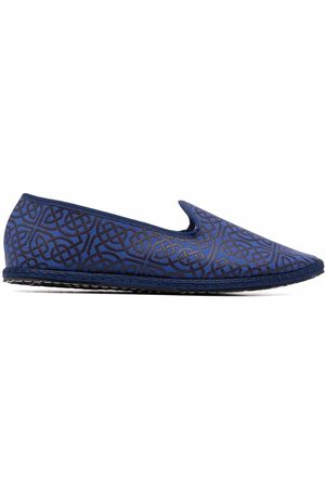Vibi Venezia Capalbio geometric-print slippers