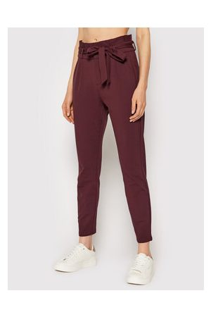 VERO MODA Ženy Kalhoty - Kalhoty z materiálu