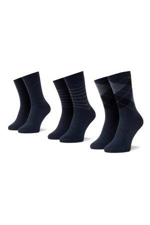 QUAZI Sada 3 párů dámských vysokých ponožek