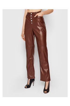 NA-KD Kalhoty z imitace kůže