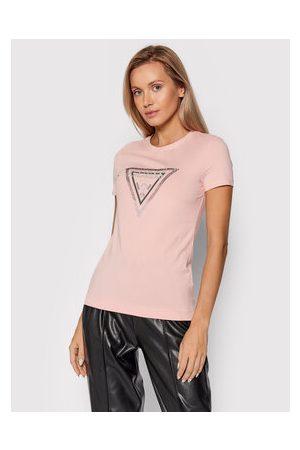 Guess Ženy S límečkem - T-Shirt