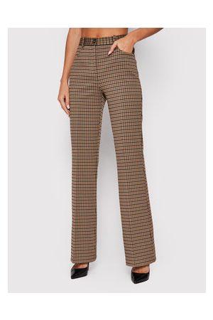 Pinko Ženy Kalhoty - Kalhoty z materiálu