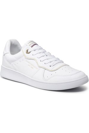 Tommy Hilfiger Ženy Tenisky - White Elevated Court Sneaker FW0FW06015