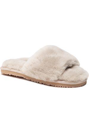 Mou Ženy Sandály - Sheepskin Fur Slide Slipper FW161001L