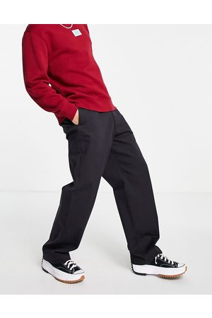 LEVIS SKATEBOARDING Muži Chino - Levi's Skateboarding loose fit twill chino trousers in black