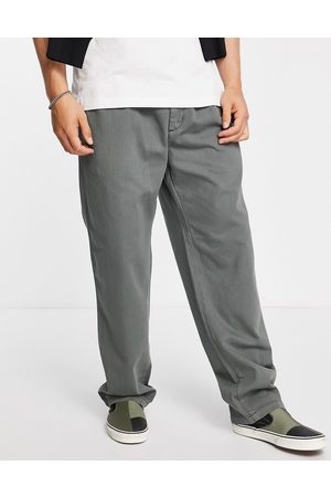 Carhartt WIP Salford relaxed straight fit trousers in green