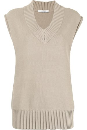 Low Classic V-neck knitted vest
