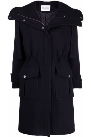 Rodebjer Hooded wool parka