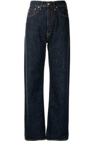 Ralph Lauren RRL Ženy Boyfriend - High-waisted straight-leg jeans