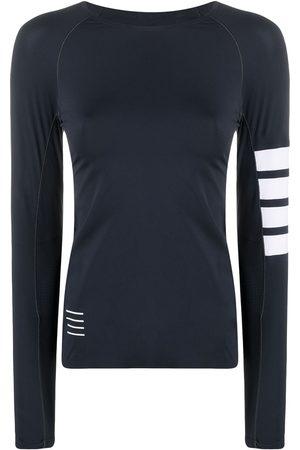 Thom Browne Ženy S dlouhým rukávem - 4-Bar compression long sleeve top