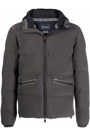 Herno Hooded padded down jacket
