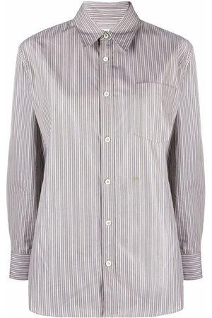 A.P.C. Long-sleeve pinstripe shirt