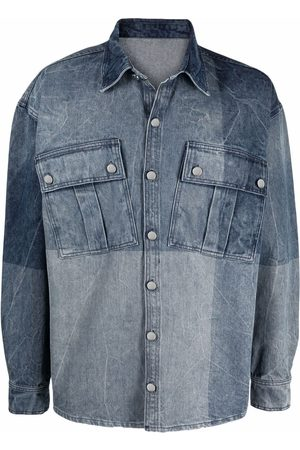 032c Muži Džínové košile - Relaxed-fit denim organic cotton shirt