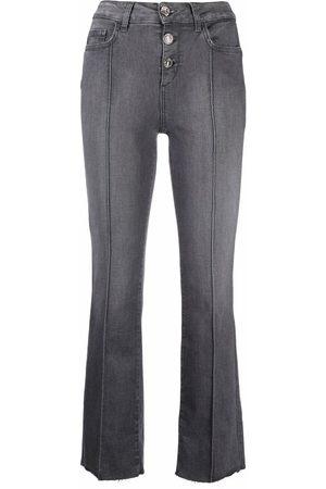 LIU JO Ženy S vysokým pasem - High-waist cropped jeans