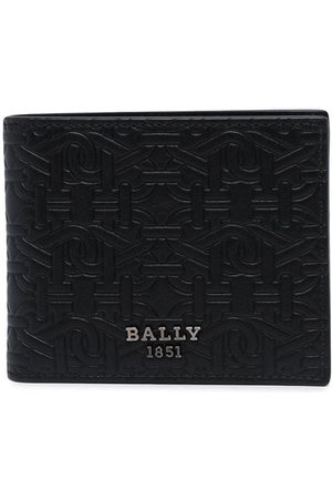 Bally Monogram-print wallet