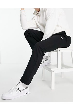 Fred Perry Muži Tepláky - Reverse tricot joggers in black