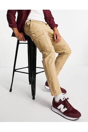 Selected Homme Muži Kapsáče - Cargo trouser in slim tapered beige-Neutral