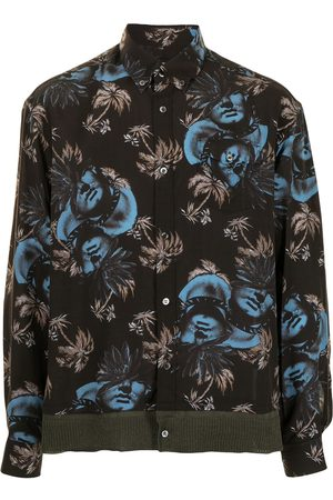 UNDERCOVER Muži S dlouhým rukávem - Printed long-sleeve shirt
