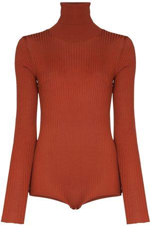 DODO BAR OR Carter open-back knitted bodysuit