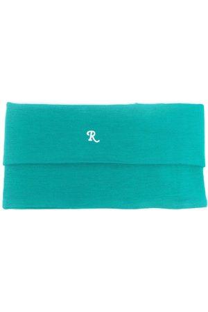 RAF SIMONS Muži Šály a šátky - Logo-embroidered roll-neck scarf