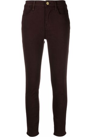 Frame Skinny cropped jeans