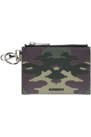 Burberry Camouflage-print pouch