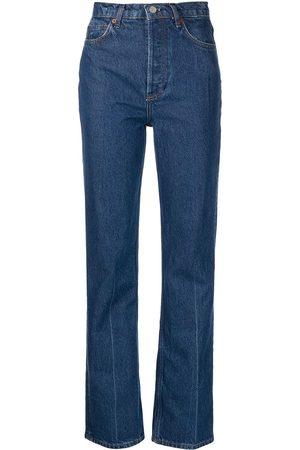 Reformation Ženy S vysokým pasem - Cynthia high-rise straight jeans