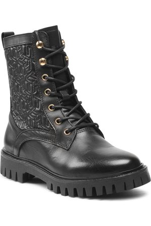Tommy Hilfiger Monogram lace Up Boot FW0FW05994