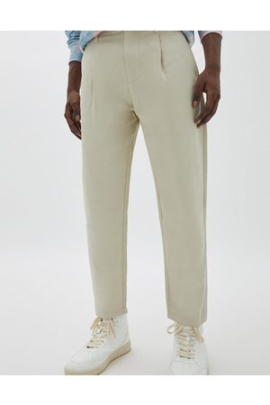 Pull&Bear Muži Chino - Balloon trousers in beige-Neutral