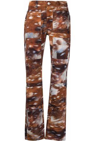 Lourdes Skinny-cut printed jeans