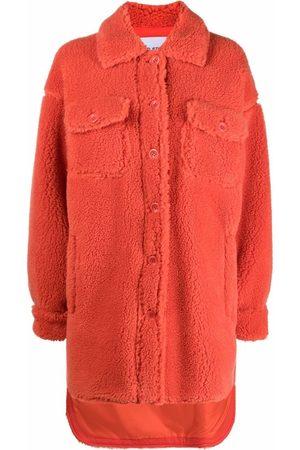 Stand Studio Ženy Fleecové - Sabi fleece shirt-jacket